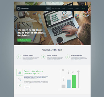 Website Design Theme Samples 1