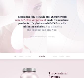 Website Design Theme Samples 2