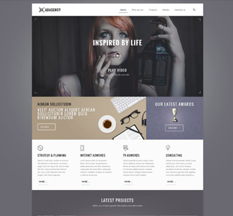 Website Design Theme Samples 3