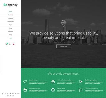 Website Design Theme Samples 4