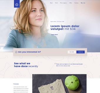 Website Design Theme Samples 5