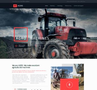 Website Design Theme Samples 6