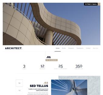 Website Design Theme Samples 13