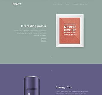 Website Design Theme Samples 14