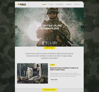Website Design Theme Samples 16
