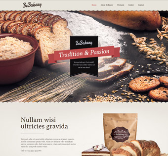 Website Design Theme Samples 17