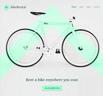 Website Design Theme Samples 25