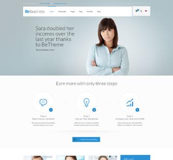 Website Design Theme Samples 254