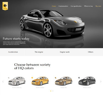 Website Design Theme Samples 249