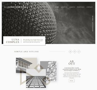 Website Design Theme Samples 243