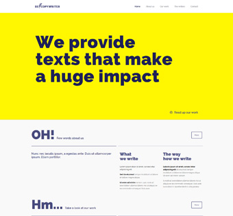Website Design Theme Samples 244