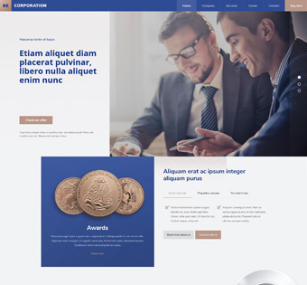 Website Design Theme Samples 234