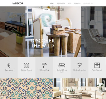 Website Design Theme Samples 228