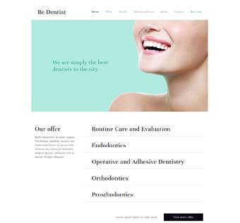 Website Design Theme Samples 42