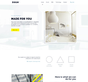 Website Design Theme Samples 225