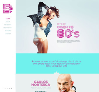 Website Design Theme Samples 218