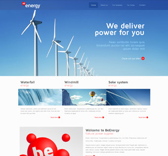 Website Design Theme Samples 211