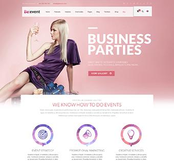 Website Design Theme Samples 209