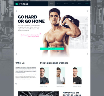 Website Design Theme Samples 198