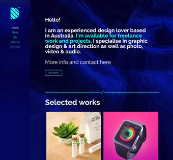 Website Design Theme Samples 195