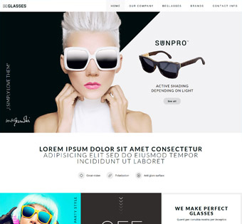 Website Design Theme Samples 190
