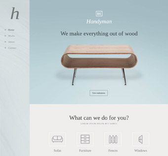 Website Design Theme Samples 184