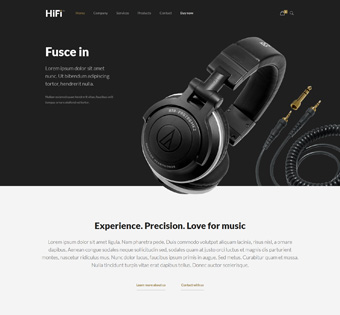 Website Design Theme Samples 182