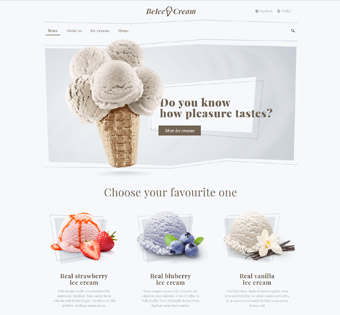 Website Design Theme Samples 174