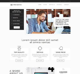 Website Design Theme Samples 171