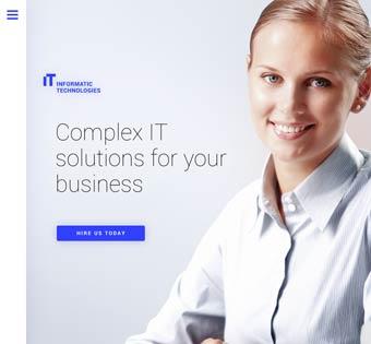 Website Design Theme Samples 167