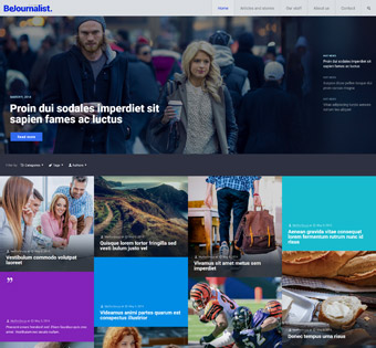 Website Design Theme Samples 164