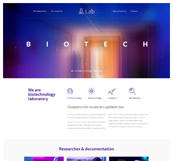 Website Design Theme Samples 158