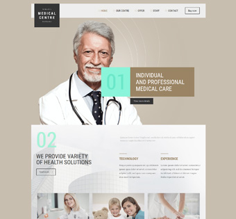 Website Design Theme Samples 140