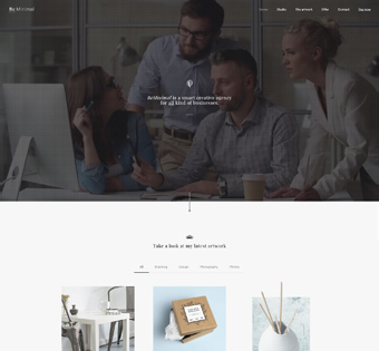 Website Design Theme Samples 139
