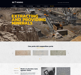 Website Design Theme Samples 138