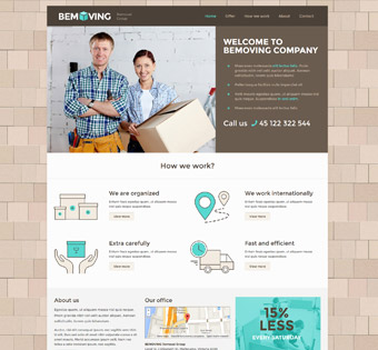 Website Design Theme Samples 134