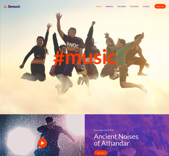 Website Design Theme Samples 131