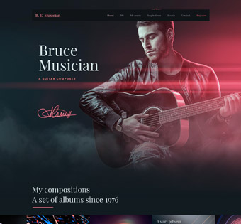 Website Design Theme Samples 130