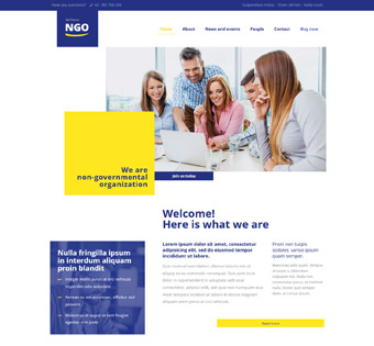 Website Design Theme Samples 129