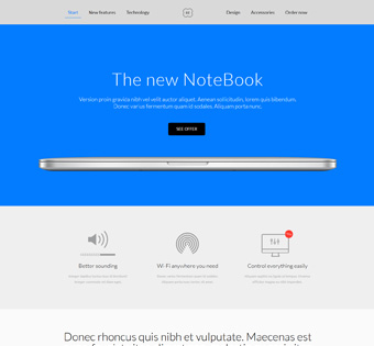 Website Design Theme Samples 128
