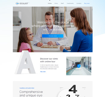 Website Design Theme Samples 127
