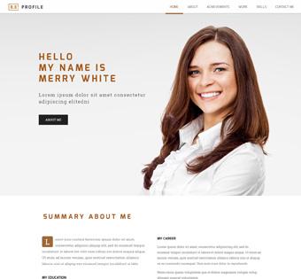 Website Design Theme Samples 106