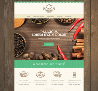 Website Design Theme Samples 105
