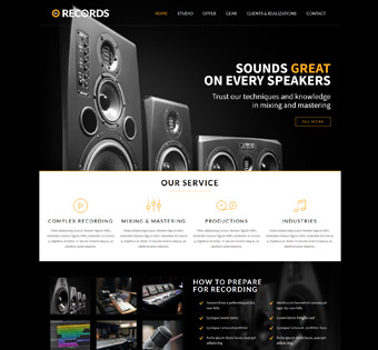 Website Design Theme Samples 104