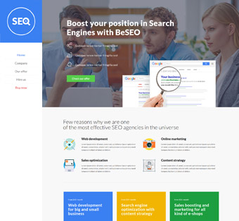Website Design Theme Samples 91
