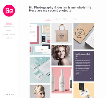 Website Design Theme Samples 87