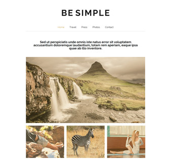 Website Design Theme Samples 86