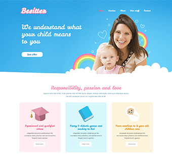 Website Design Theme Samples 85