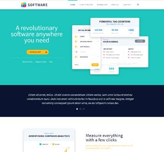 Website Design Theme Samples 79