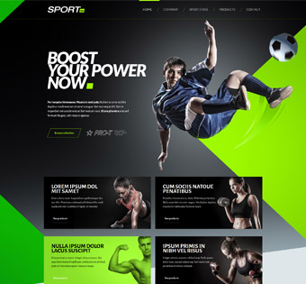 Website Design Theme Samples 75